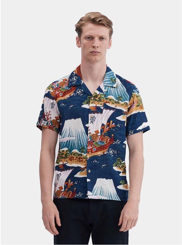 The Fuji Merchant Cuban Short Sleeve Shirt