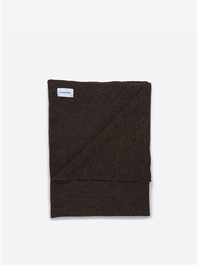 Dark Grey Shetland Blanket
