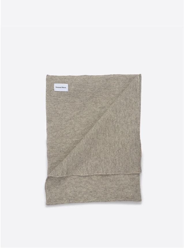 Light Grey Shetland Blanket