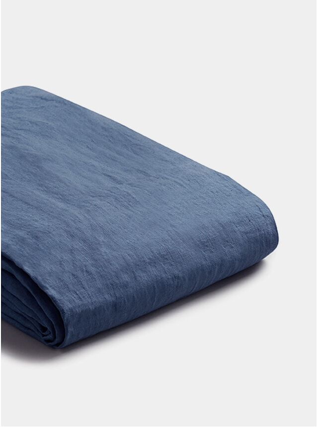 Blueberry Linen Super King Size Duvet Cover