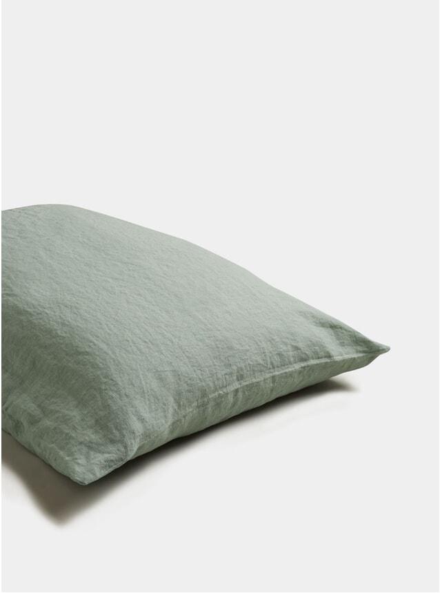 Sage Green Linen Pillowcase Set of 2