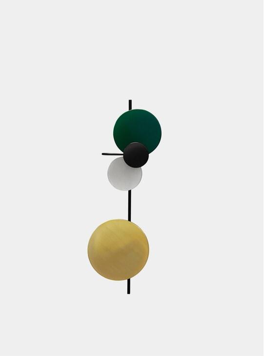 Cedar Green Planet Lamp