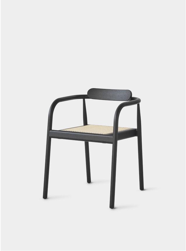 Black / Cane AHM Chair