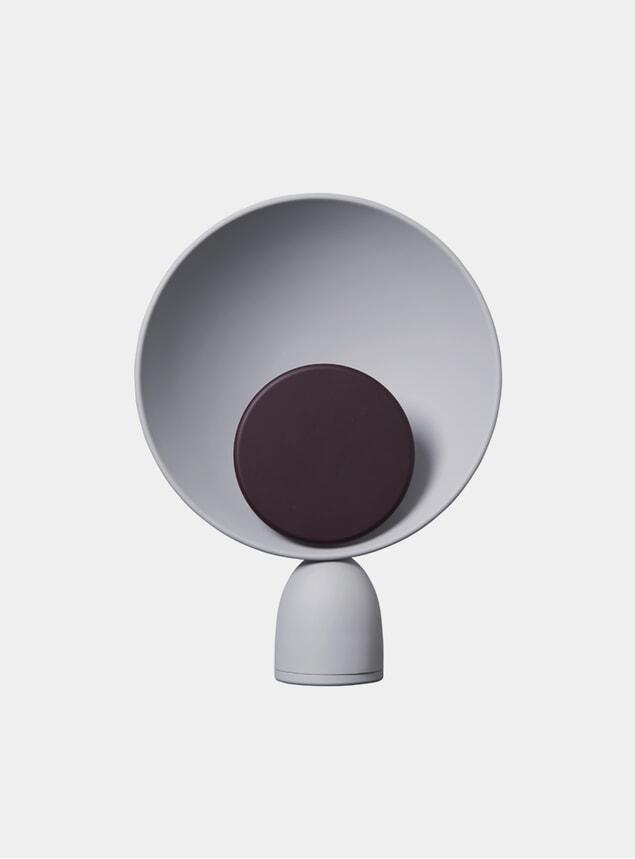 Fig Purple / Ash Grey Blooper Table Lamp