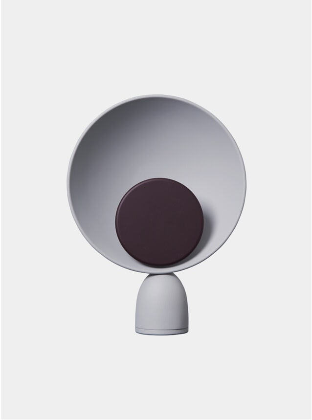 Fig Purple / Ash Grey Blooper Table Lamp