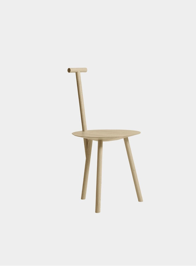 Natural Ash Spade Chair