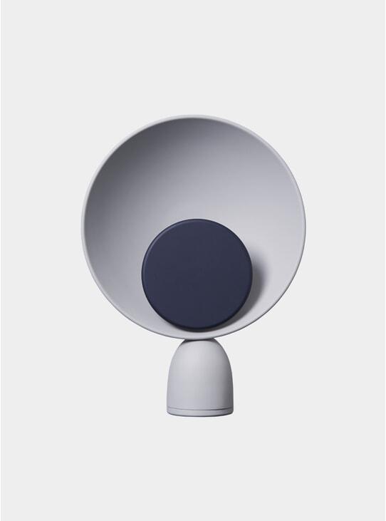 Navy Blue / Ash Grey  Blooper Table Lamp