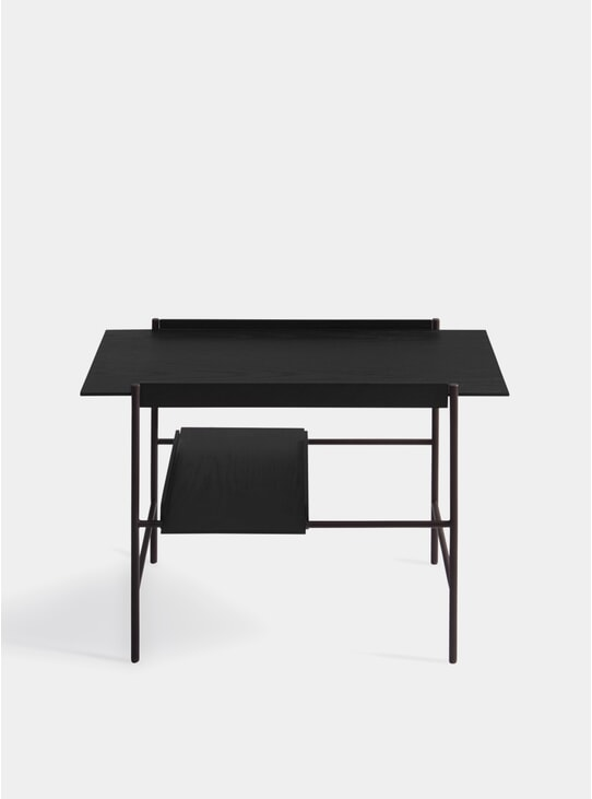 Stained Black Kanso Tray Table