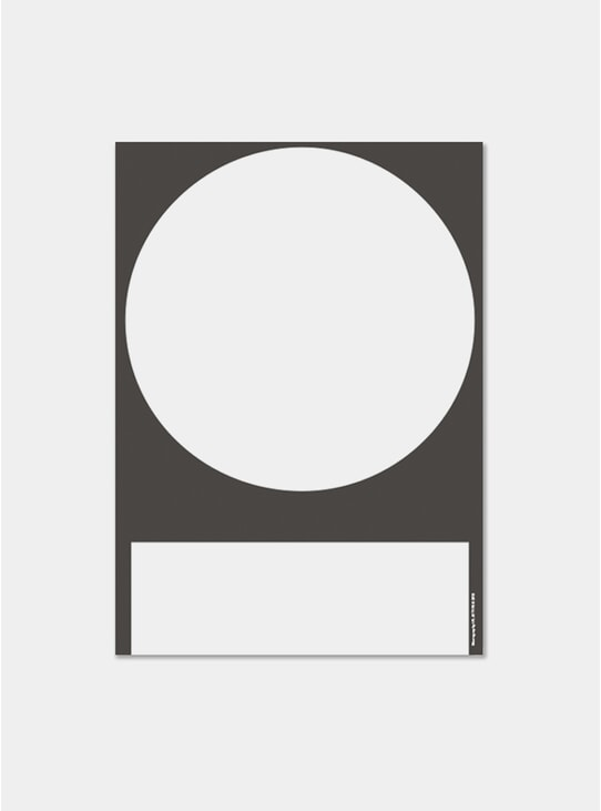 Black & White In and Out Poster