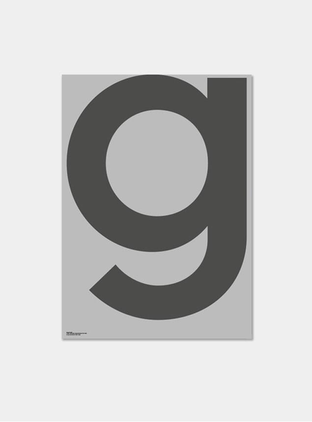 Grey G Poster