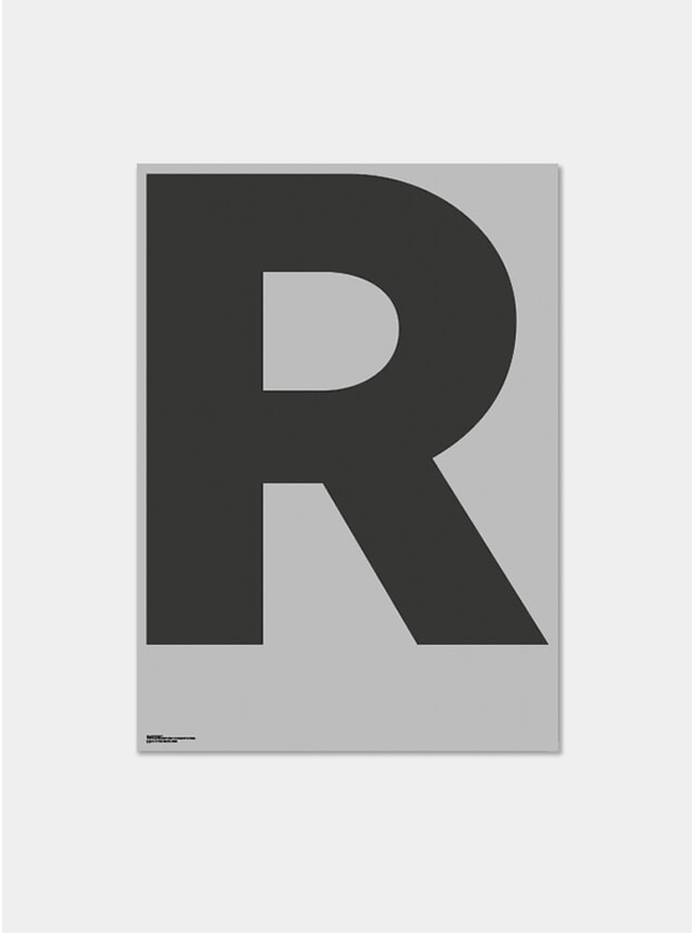 Grey R Poster