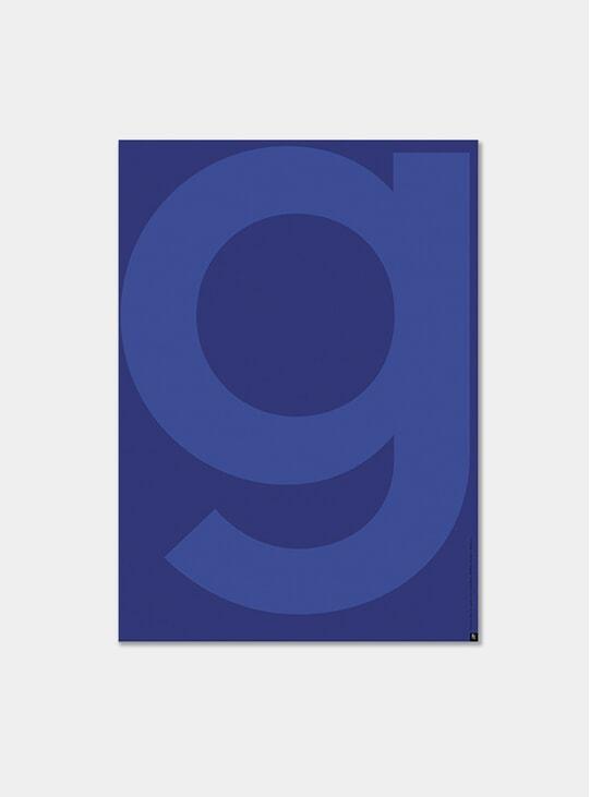 Yves Klein Blue G Poster