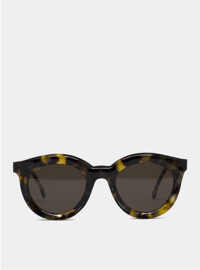 Beige Tortoise Vivid Sunglasses