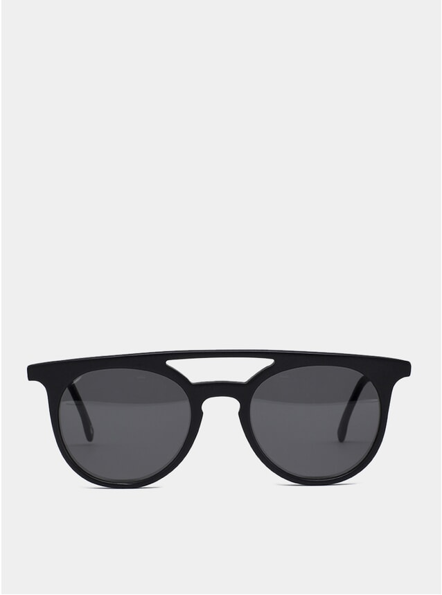 Black Matte Durden Sunglasses