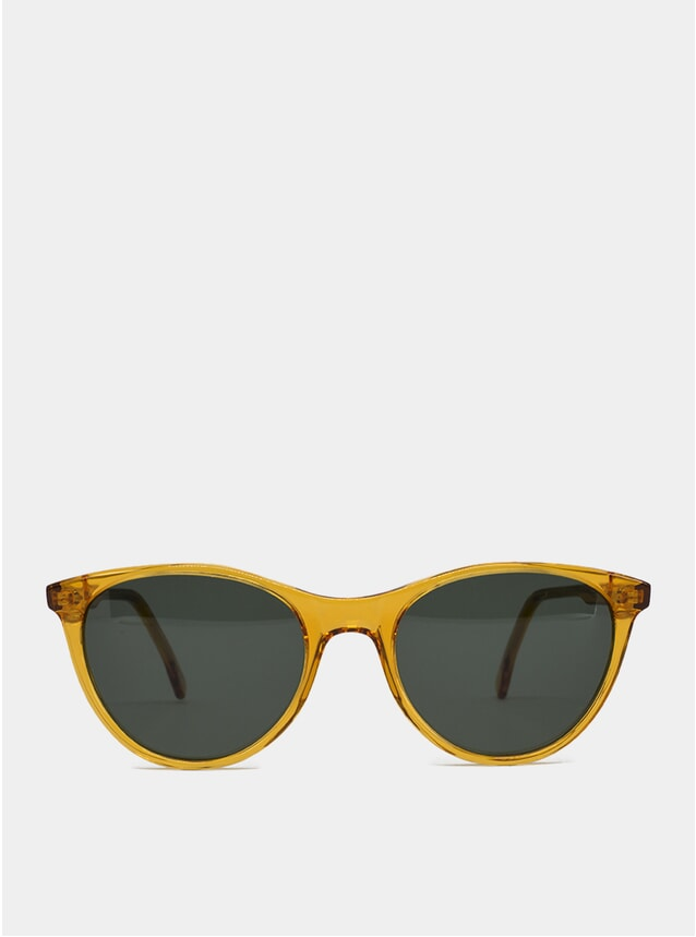 Orange Etta Sunglasses