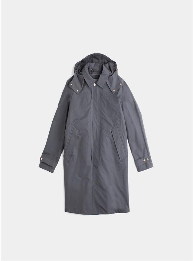 Charcoal Commuter Raincoat