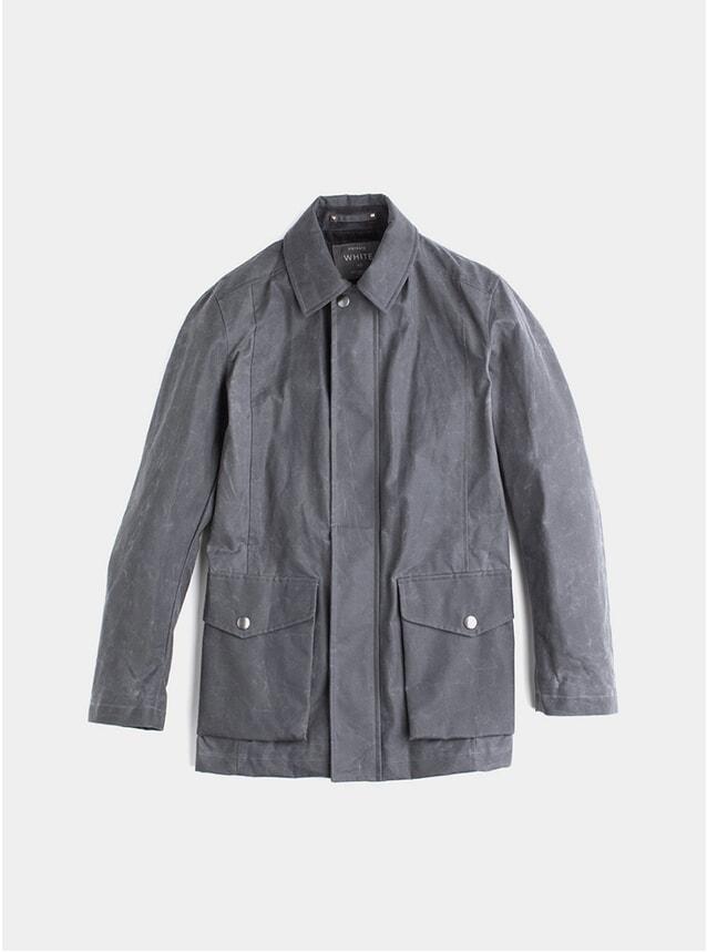 Charcoal Deluxe Wax Jacket