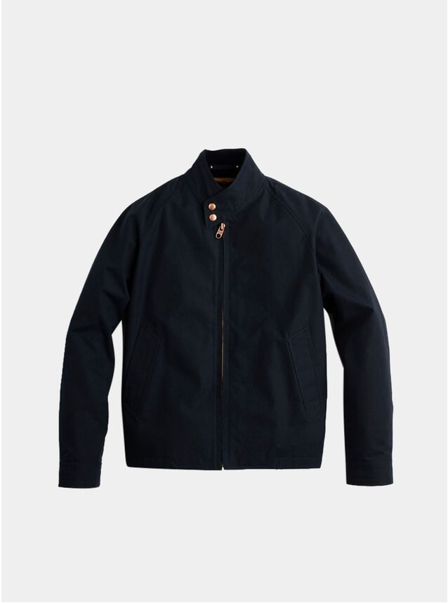 Midnight Navy Ventile Harrington Jacket