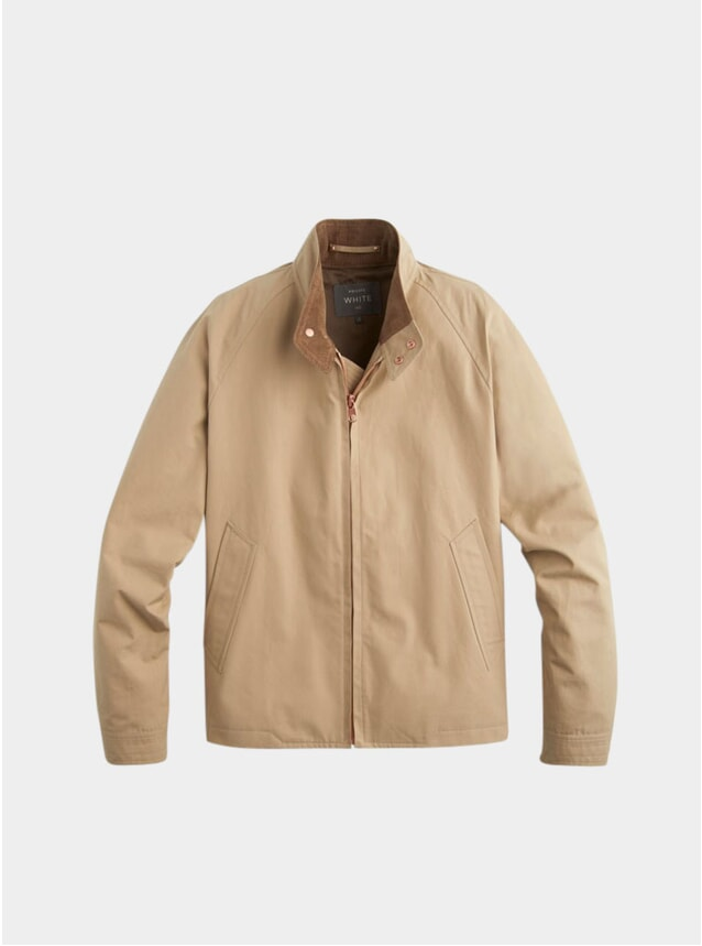 Sand Ventile Harrington Jacket