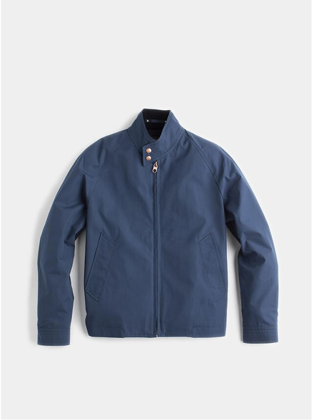 Storm Blue Ventile Harrington