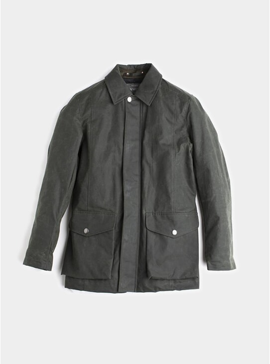 Olive Deluxe Wax Jacket