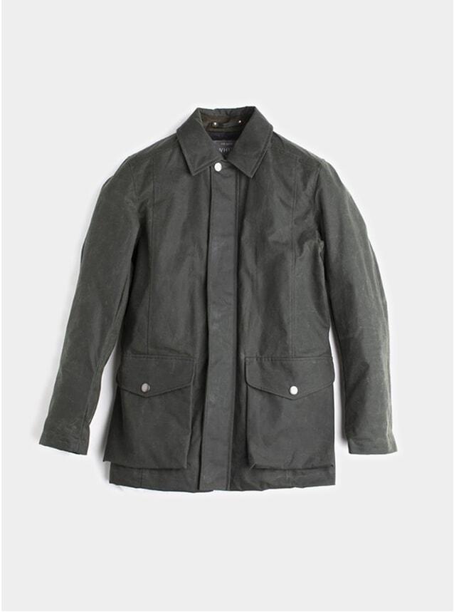 Olive Deluxe Wax Jacket