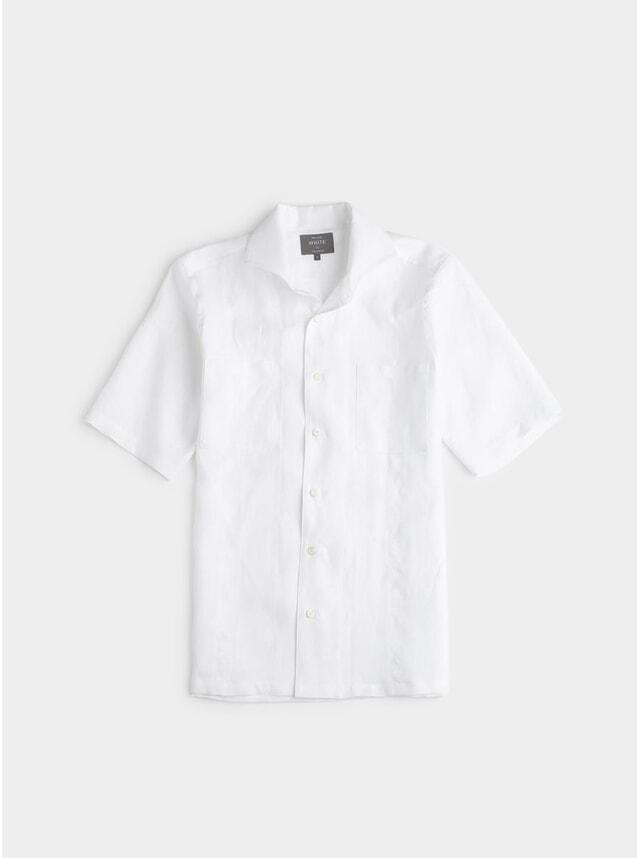 White Linen Maxwell SS Shirt