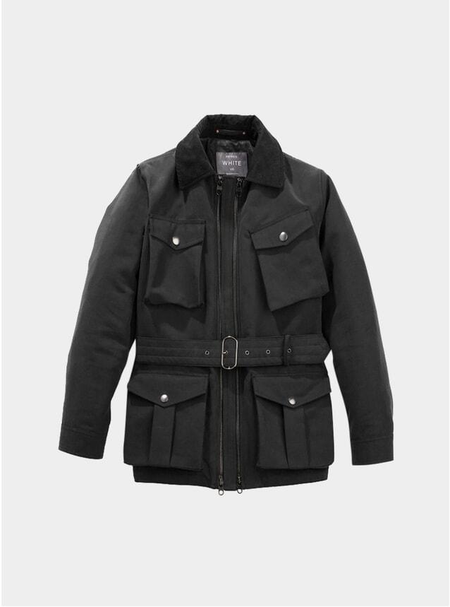 Black Twin Track Jacket