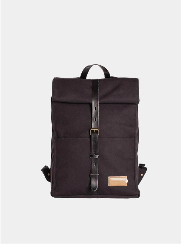 Midnight Black / Black  Alex 24hr Backpack