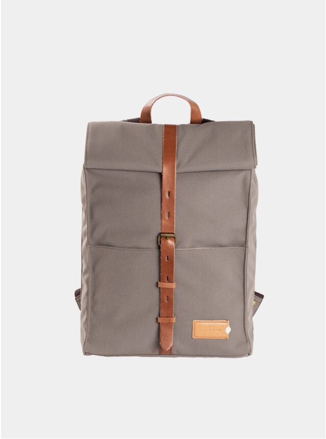 Moss Green / Brown Alex 24hr Backpack