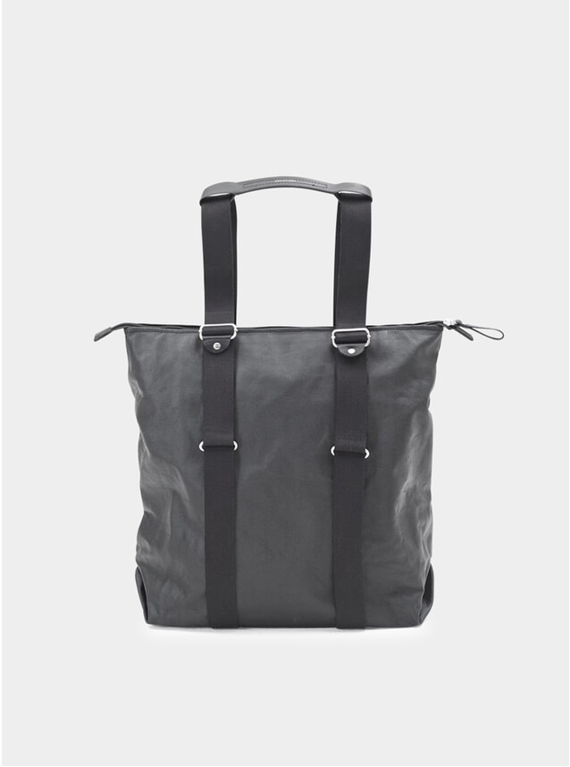 Black Organic Simple Zipshopper