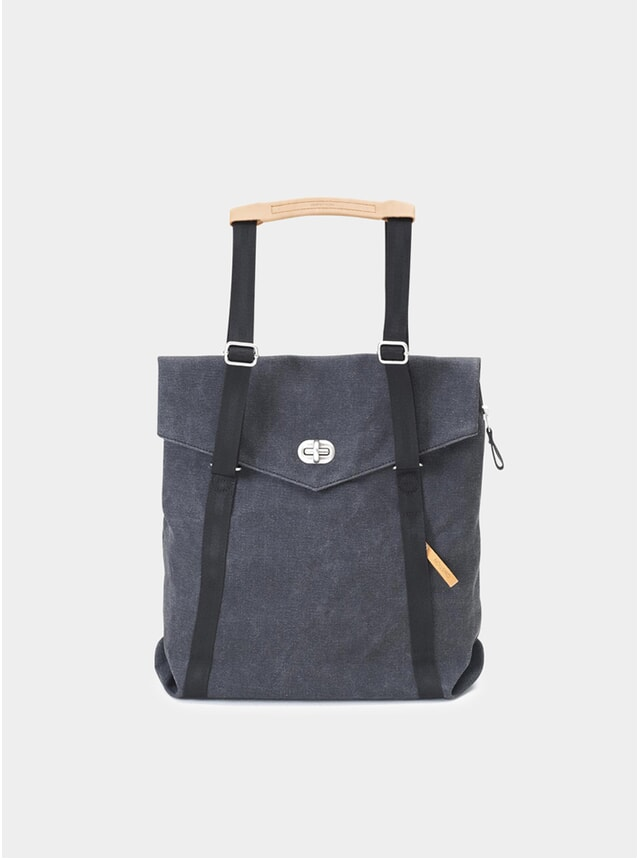 Washed Black Tote