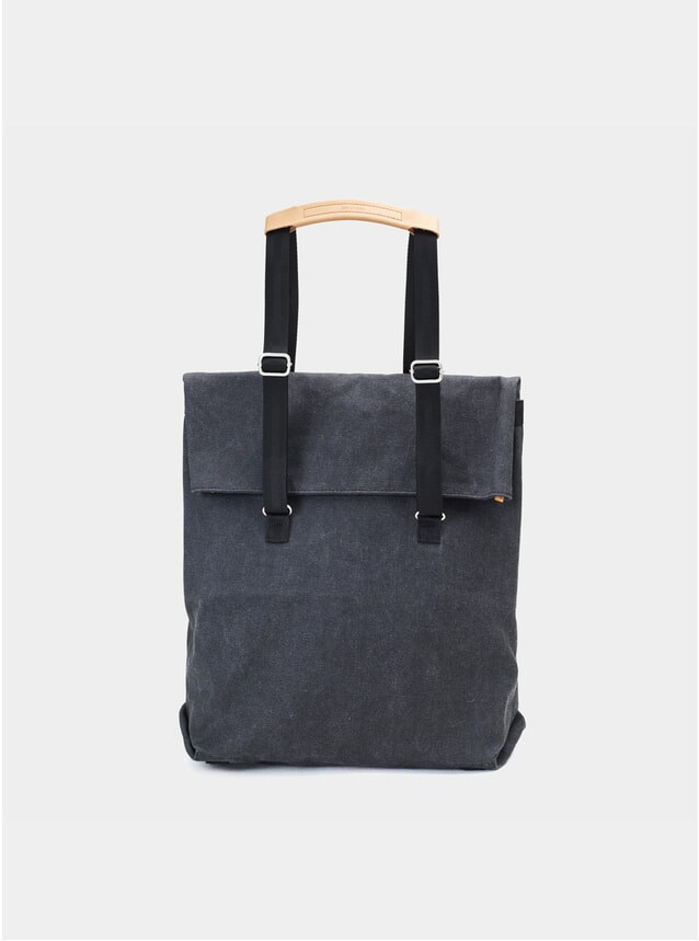 Washed Black Day Tote
