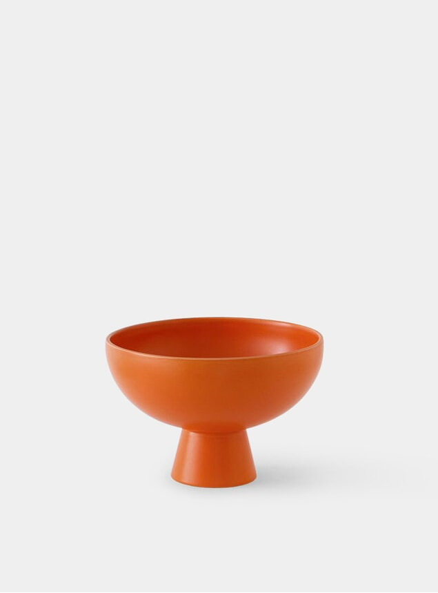 Orange Large Bowl