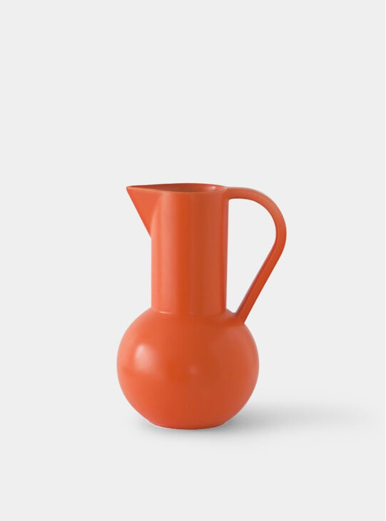 Orange Large Jug