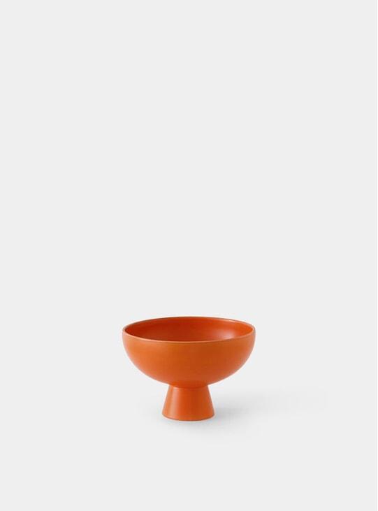 Orange Small Bowl
