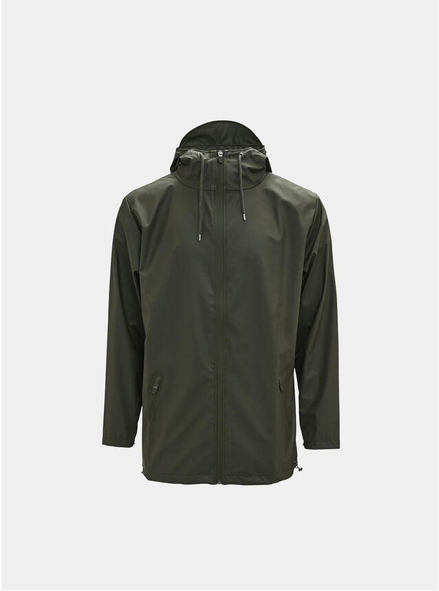Green Breaker Coat