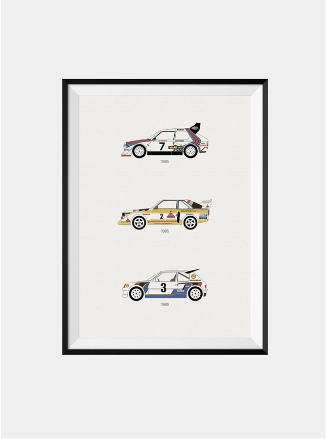 A Tribute to Rally B Print