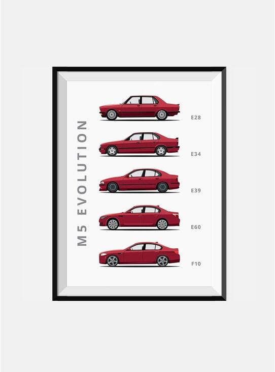 BMW M5 Car Print