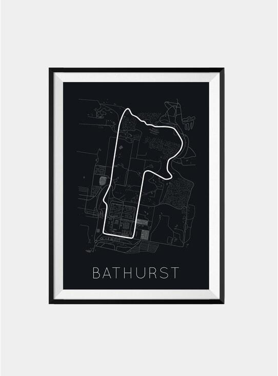 F1 Bathurst Track Print