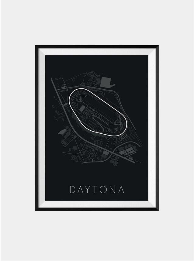 F1 Daytona Track Print