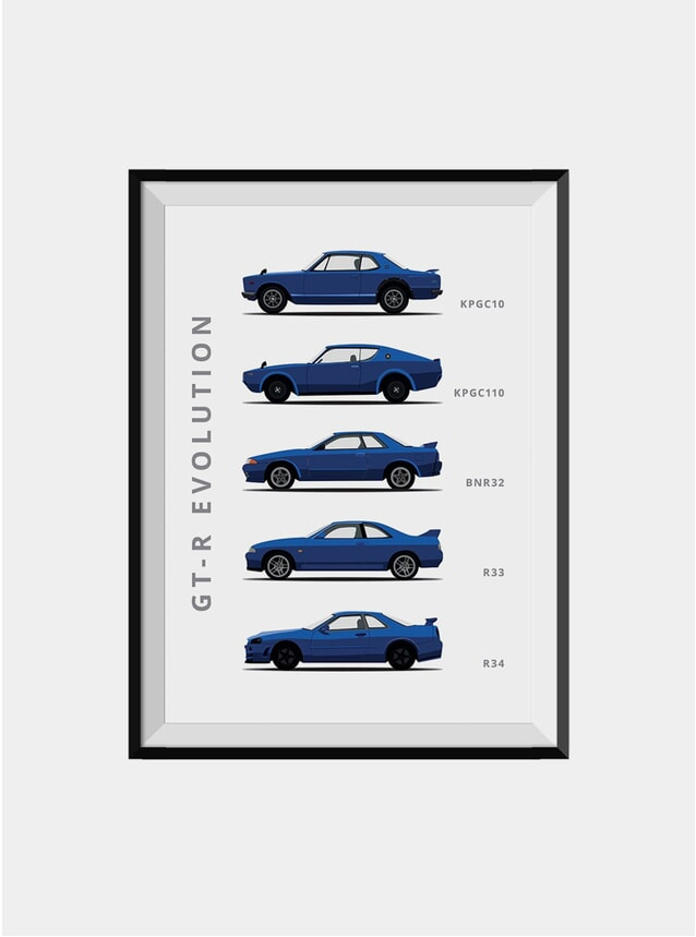 Nissan Skyline Car Print