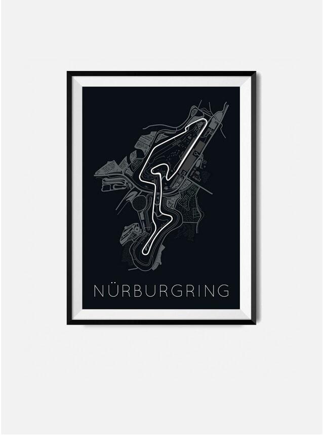 Nürburgring F1 Track Print
