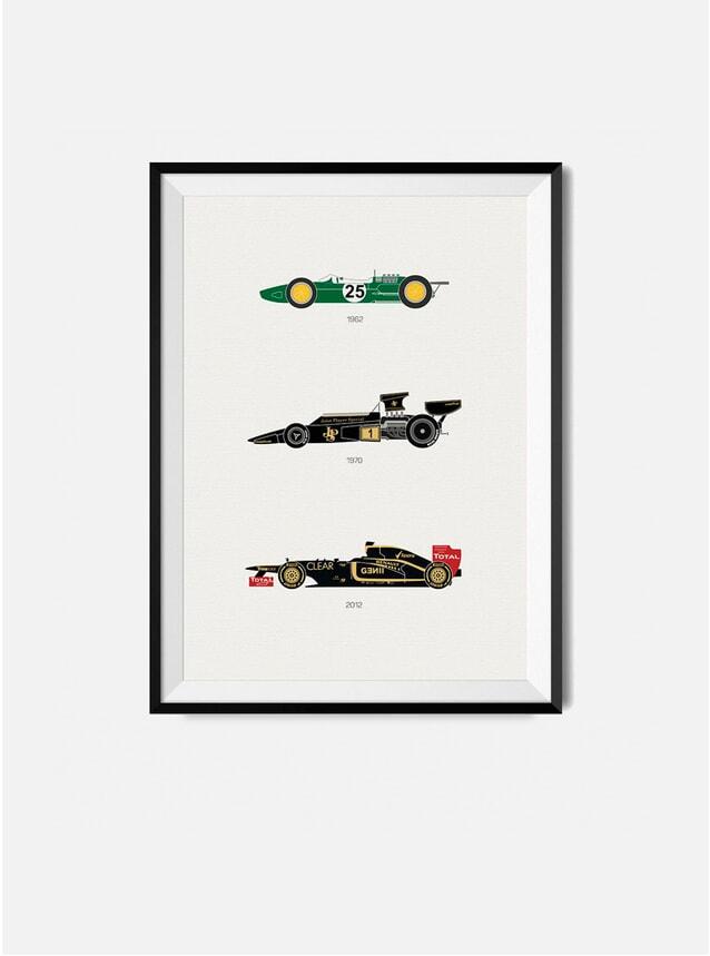 The Iconic Lotus Car Print