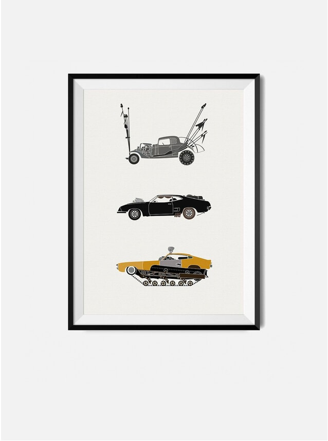 The Iconic Mad Max Car Print