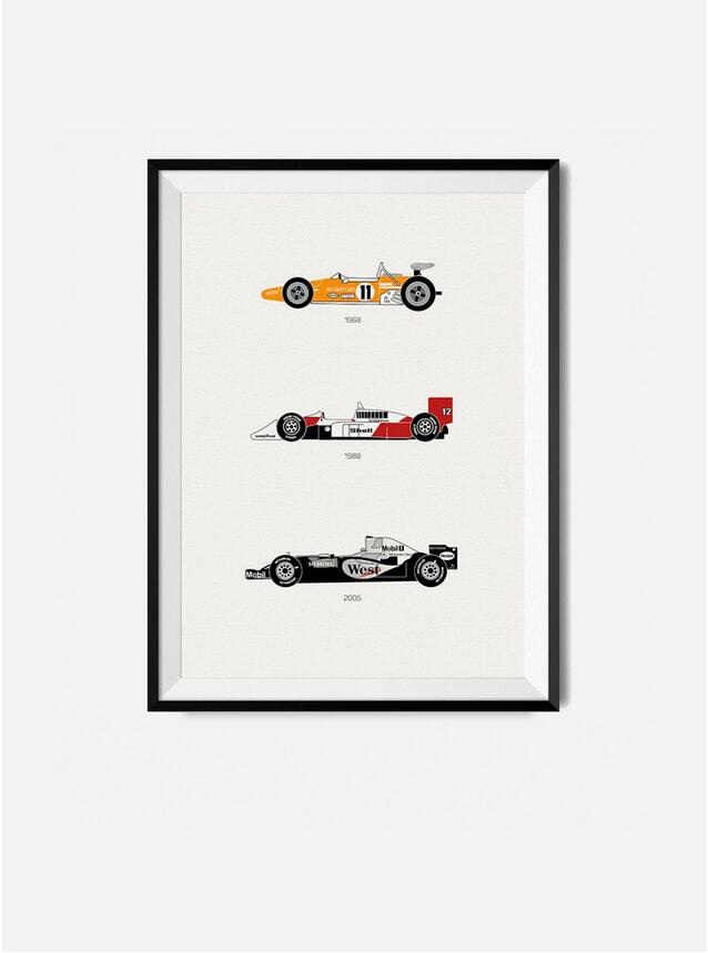 The Iconic McLaren Car Print