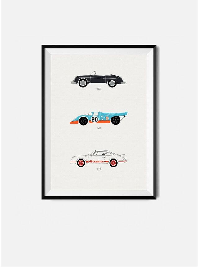 The Iconic Porsche Car Print