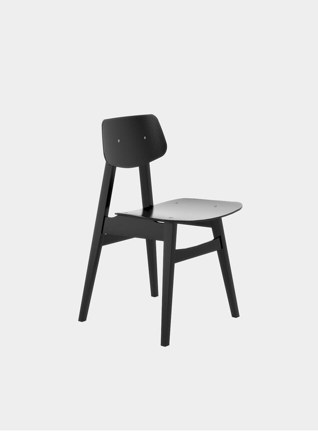 Black 1960 Dining Chair