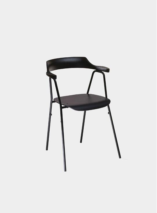 Black 4455 Dining Chair