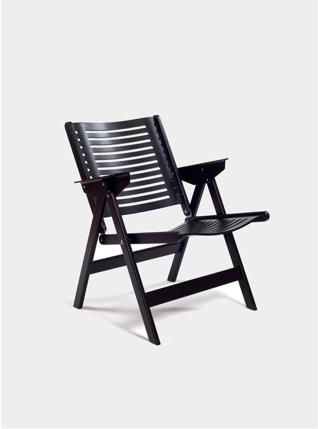 Black Rex Lounge Chair